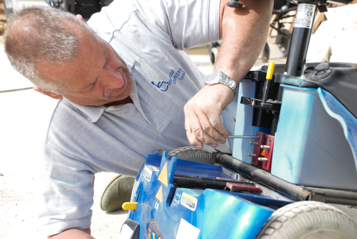 Cotswold Mobility offers a range of service solution options