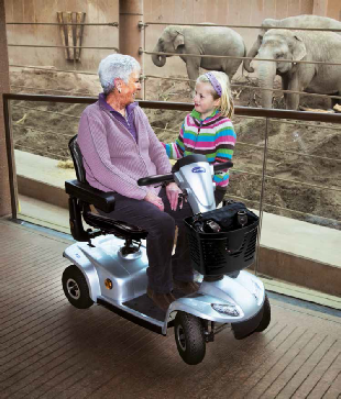 Cotswold Mobility supplies Invacare `The Leo` wheelchairs