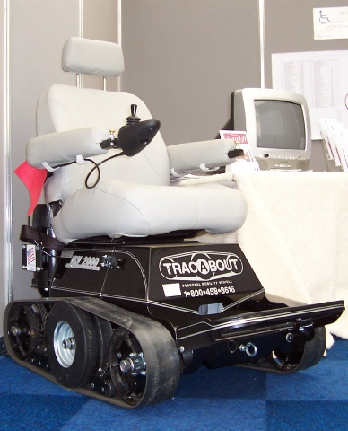 Cotswold Mobility demonstration TracAbout IRV2000